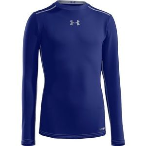 Under Armour Blue Youth Fitted Long Sleeve Shirt